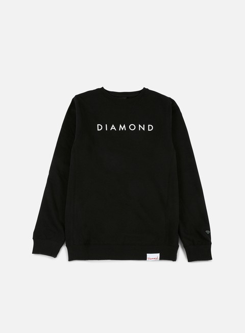 Outlet e Saldi Felpe Logo Diamond Supply Futura Crewneck
