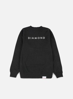 Diamond Supply - Futura Crewneck, Charcoal Heather 1