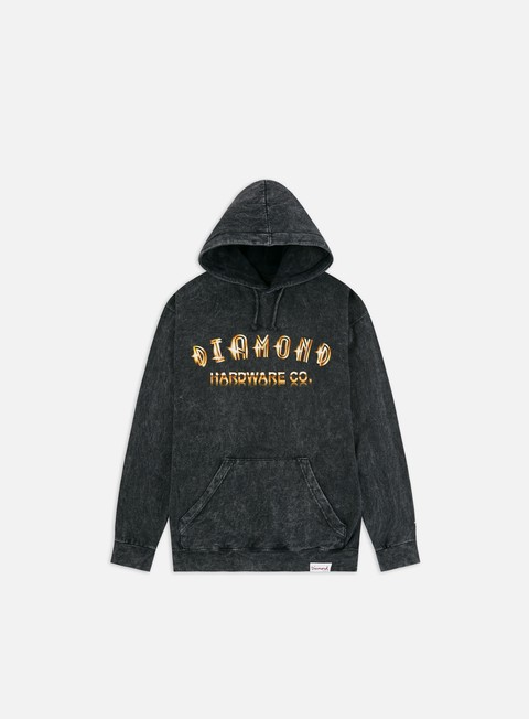 Diamond Supply Gold Skull Hoodie