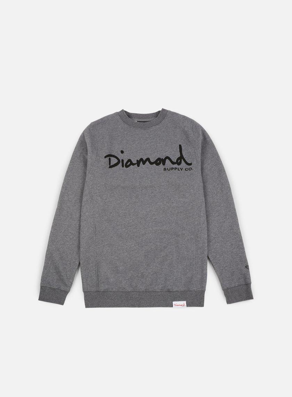 0cd138c1 DIAMOND SUPPLY OG Script Core Crewneck € 38 Crewneck Sweatshirts ...