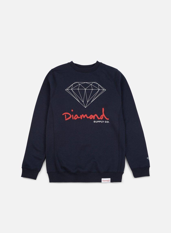 Diamond Supply OG Sign Core Crewneck