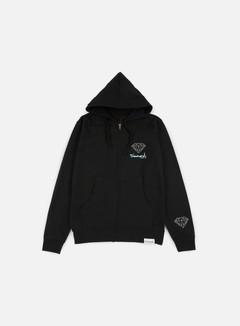 Diamond Supply - OG Sign Zip Hoodie, Black 1