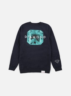 Diamond Supply - Rare Gem Crewneck, Navy 1