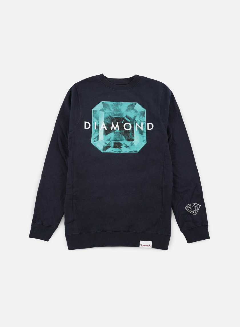Diamond Supply - Rare Gem Crewneck, Navy