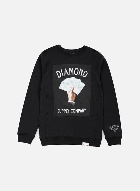 Felpe Girocollo Diamond Supply Royal Flush Crewneck