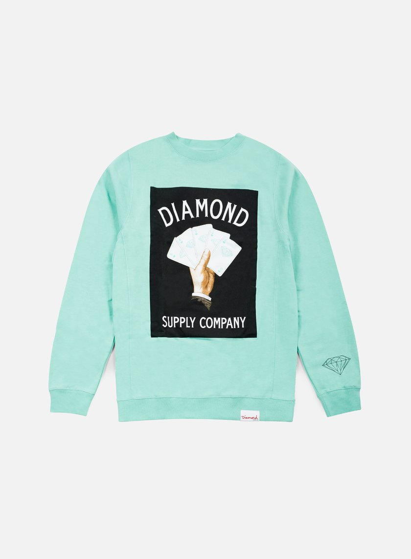 Diamond Supply Royal Flush Crewneck