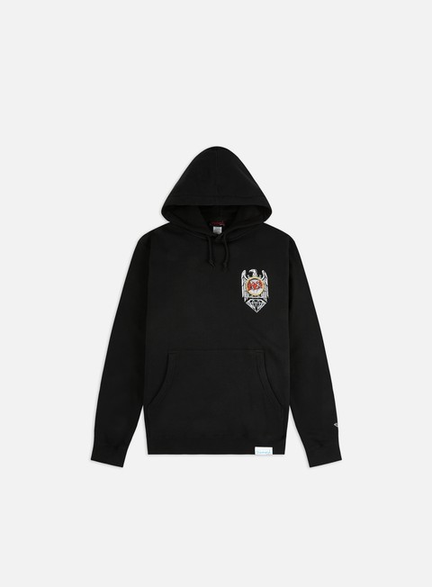 Hooded Sweatshirts Diamond Supply Slayer Brilliant Abyss Hoodie