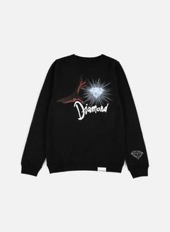 Diamond Supply - Underworld Crewneck, Black/Red 1