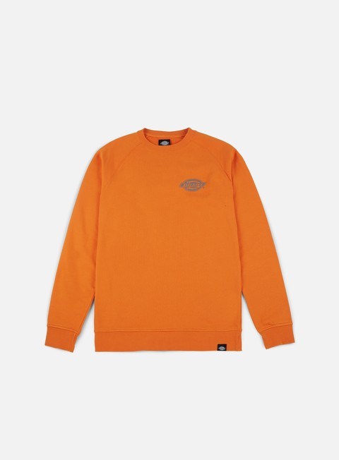 felpe dickies briggsville crewneck orange