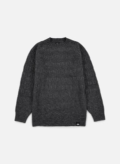Dickies - Goodland Crewneck Jumper, Dark Grey Melange 1