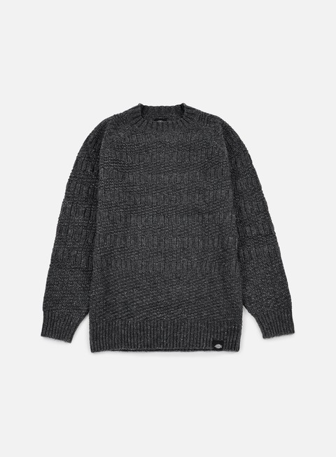 felpe dickies goodland crewneck jumper dark grey melange