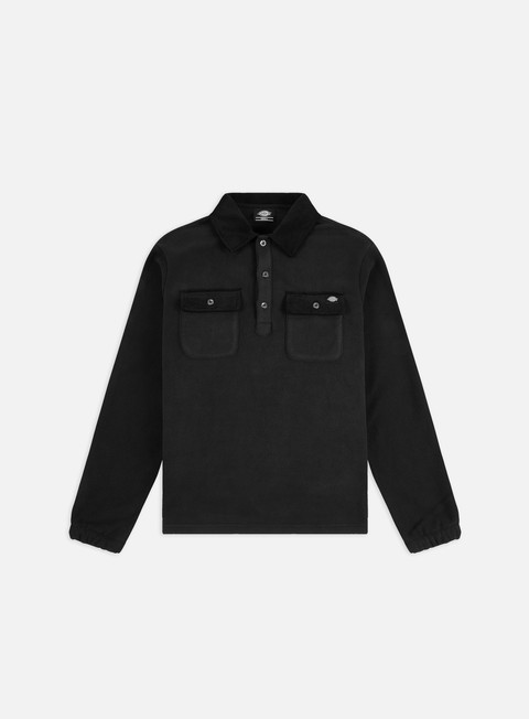 Sale Outlet Sweaters and Fleeces Dickies Morganza LS Polo Shirt