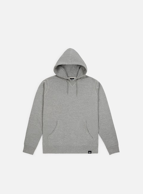 felpe dickies philadelphia hooded fleece grey melange