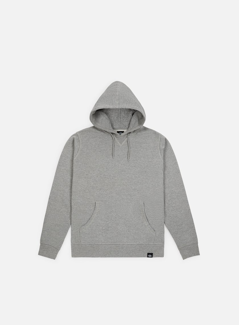 Dickies - Philadelphia Hooded Fleece, Grey Melange