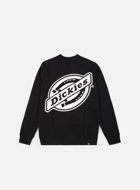 felpe dickies point comfort crewneck black