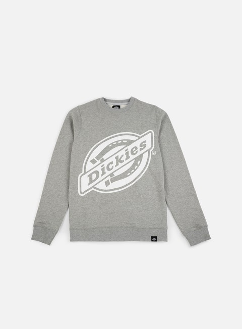 felpe dickies point comfort crewneck grey melange