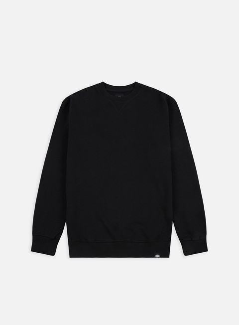 felpe dickies washington crew sweat black