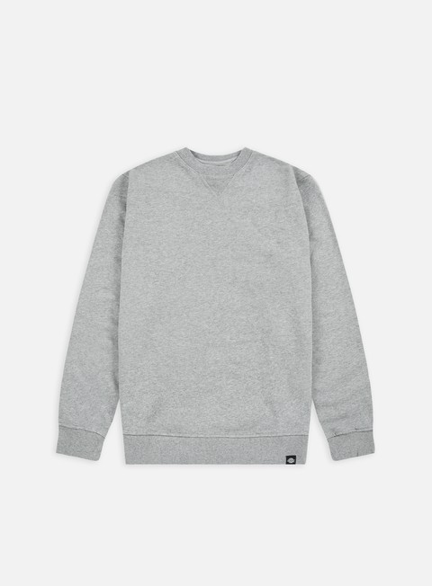 felpe dickies washington crew sweat grey melange