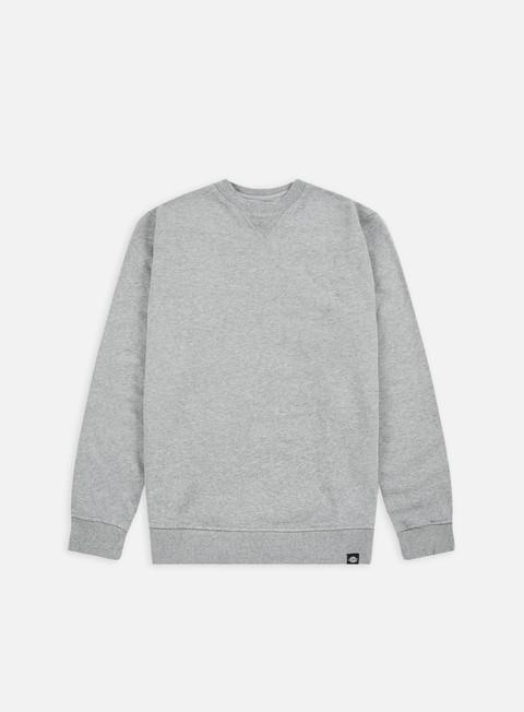 Dickies-Washington blgrey Melange Pullover Felpa T-shirt