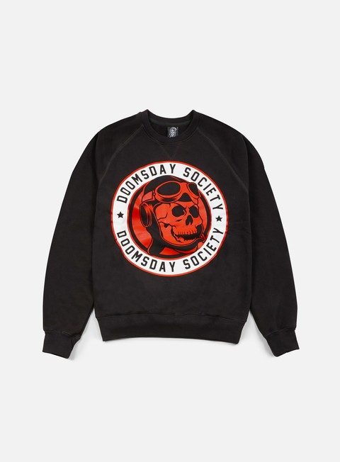 felpe doomsday aviator crewneck black