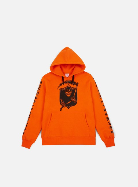 felpe doomsday badge hoodie orange