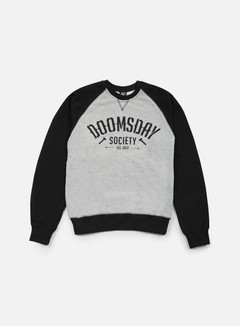 Doomsday - Built To Destroy Crewneck, Black/Sport Grey 1