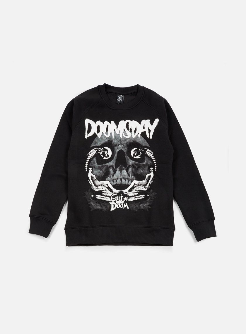 Doomsday - Cult Of Doom Crewneck, Black