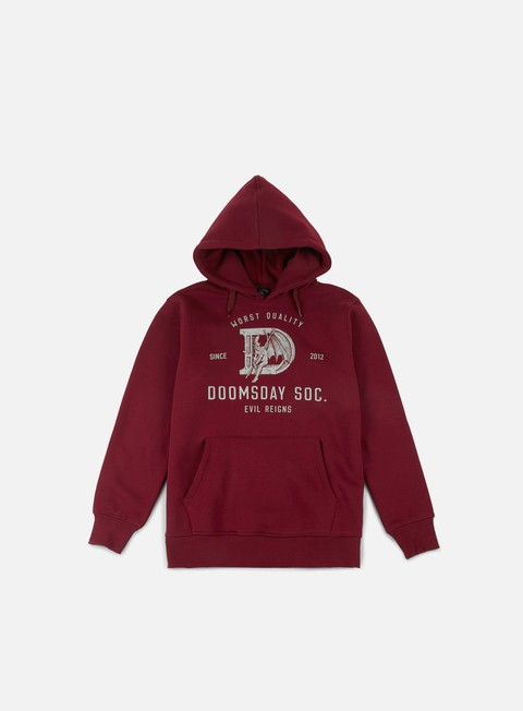 felpe doomsday d as devil hoody burgundy
