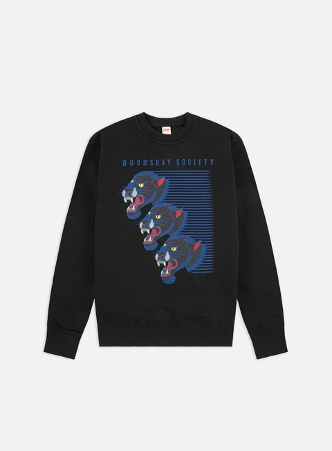 Outlet e Saldi Felpe Girocollo Doomsday Flash Panther Crewneck
