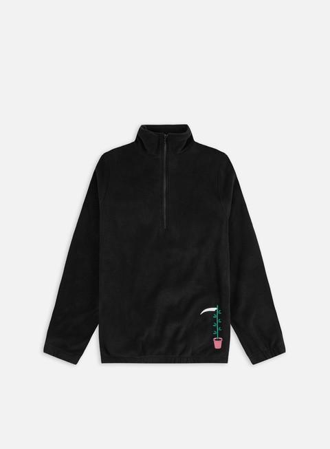 Fleece sweatshirts Doomsday Green Thumb Embroidered Fleece Jumper