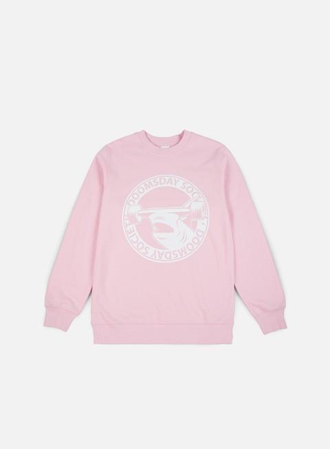 felpe doomsday hammerhead crewneck soft pink