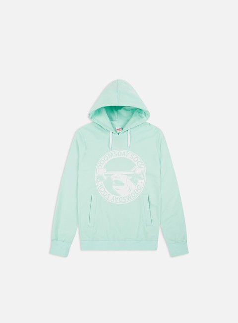 felpe doomsday hammerhead hoodie mint soft brushed