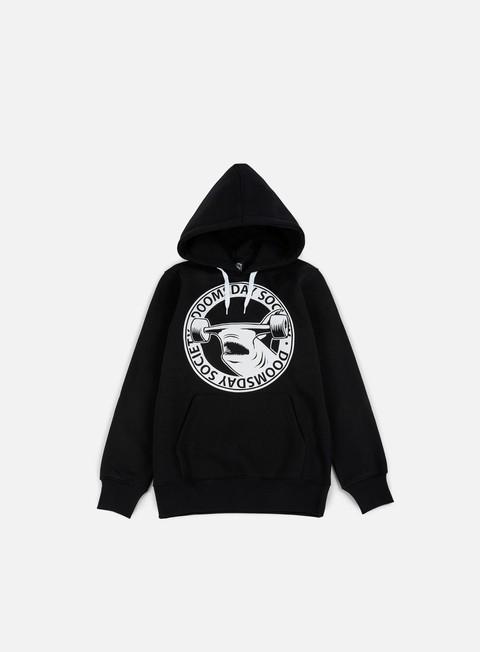 felpe doomsday hammerhead hoody black white