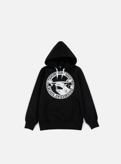 Doomsday - Hammerhead Hoody, Black/White String 1