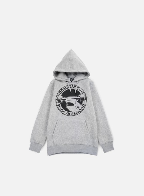 felpe doomsday hammerhead hoody grey