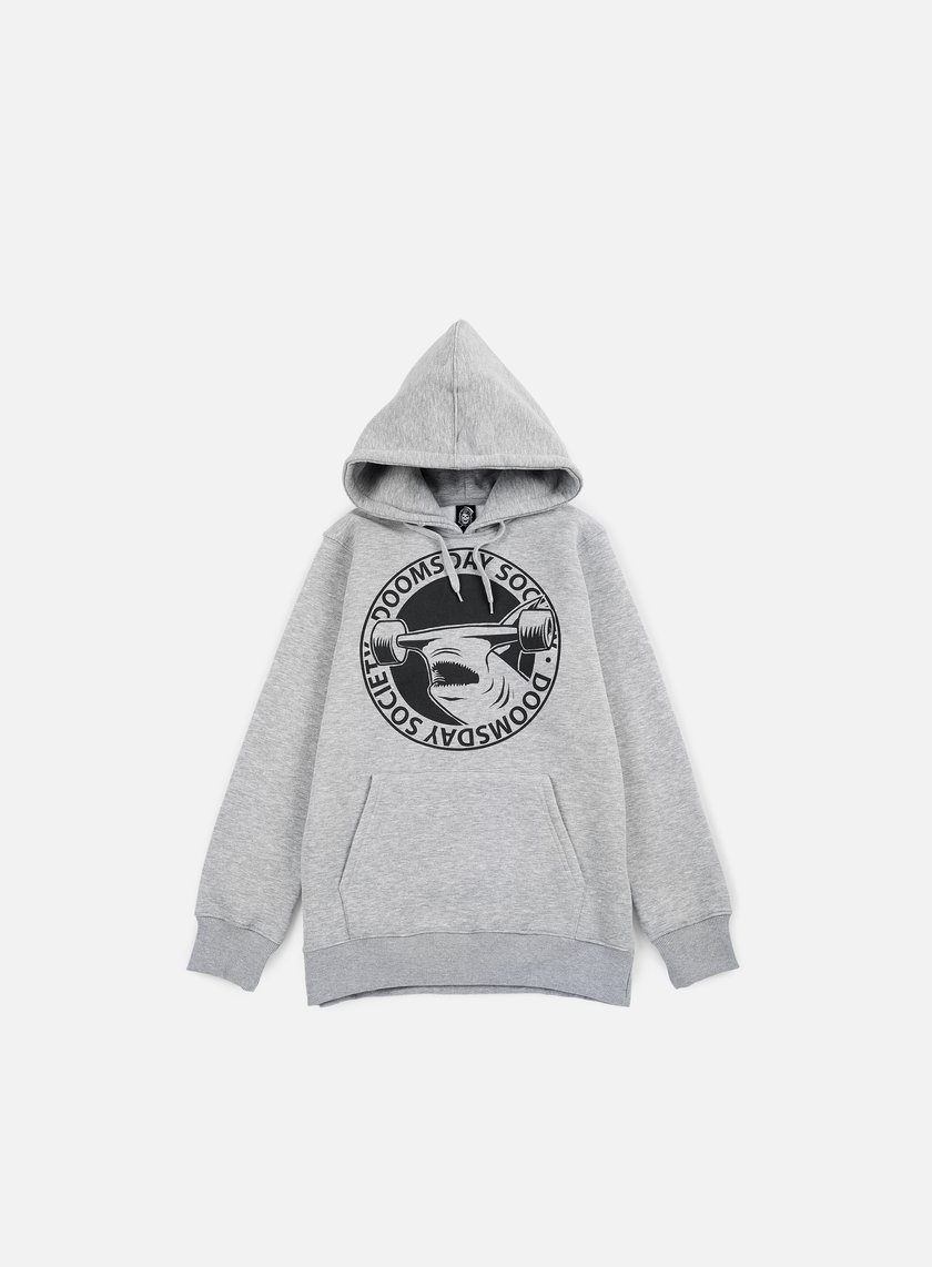 Doomsday - Hammerhead Hoody, Grey