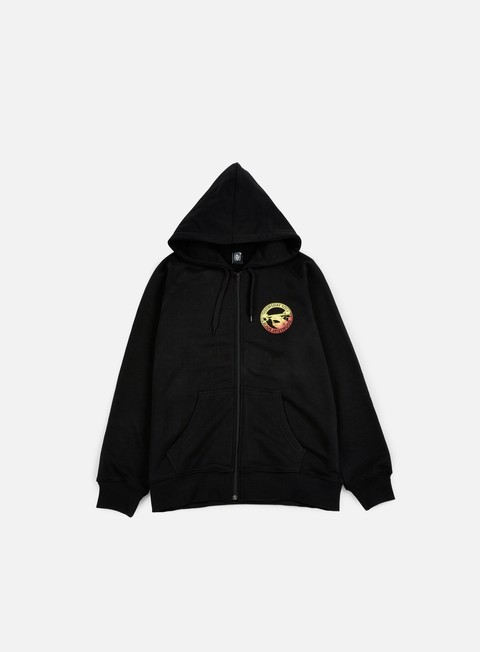 felpe doomsday hammerhead zip hoody black gradient