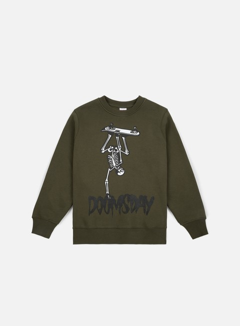 Crewneck Sweatshirts Doomsday Handplant Crewneck