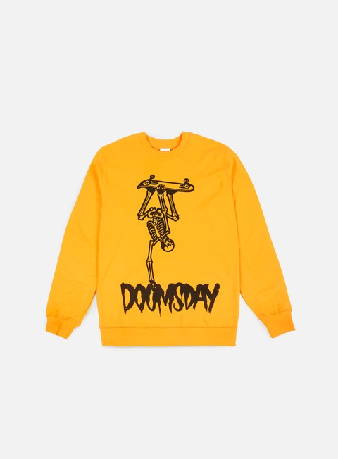 felpe doomsday handplant crewneck yellow