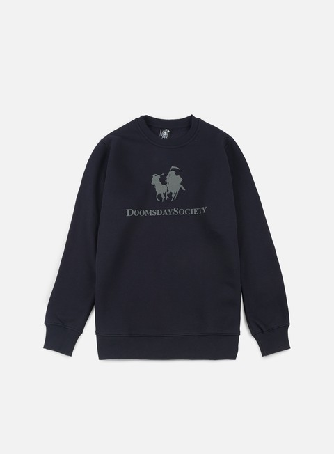 felpe doomsday hunt crewneck navy