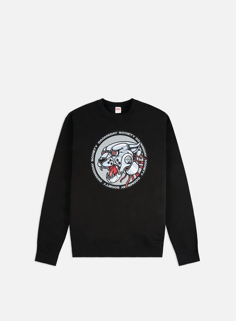 Outlet e Saldi Felpe Girocollo Doomsday Iron Panther Crewneck
