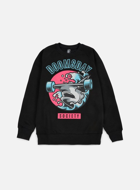 felpe doomsday japan hammerhead crewneck black