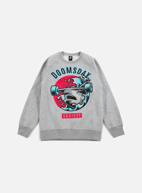 felpe doomsday japan hammerhead crewneck sport grey