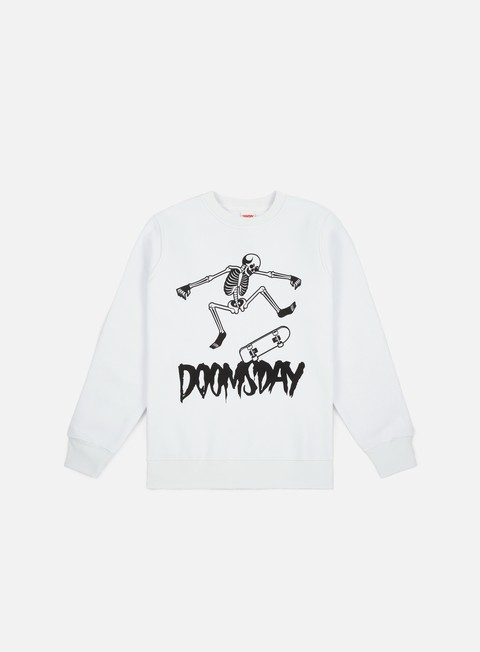 Sale Outlet Crewneck Sweatshirts Doomsday Kickflip Crewneck
