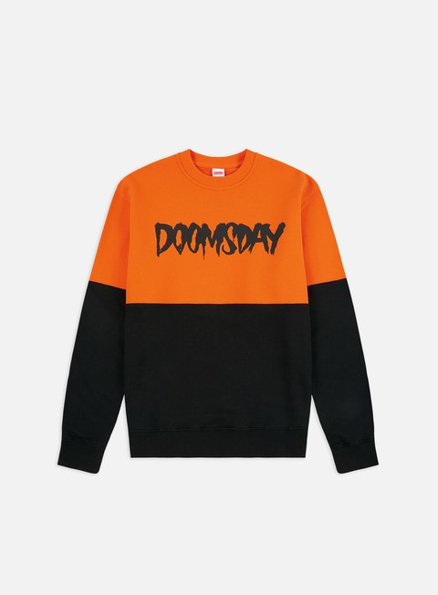 Felpe Girocollo Doomsday Logo 2 Tones Crewneck