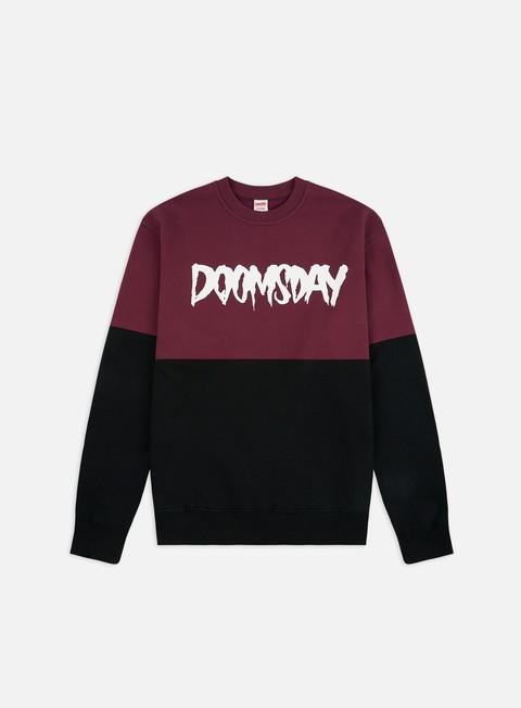 Doomsday Logo 2 Tones Crewneck