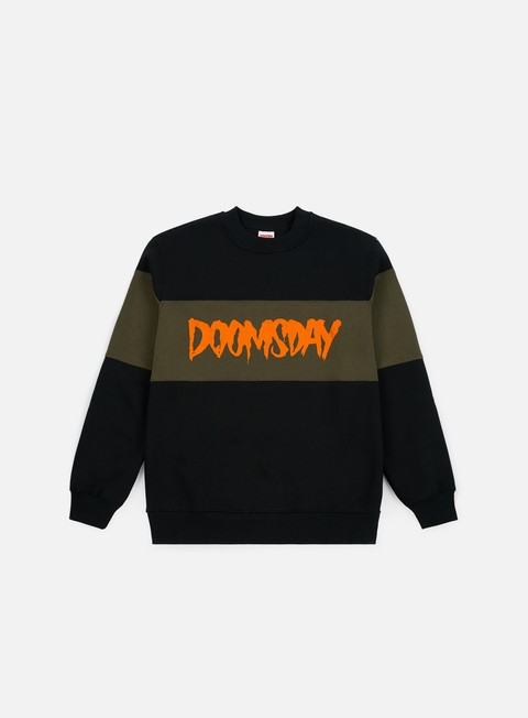 Crewneck Sweatshirts Doomsday Logo 3 Tone Crewneck