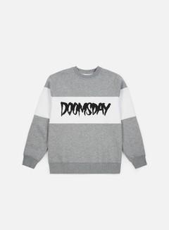 Outlet e Saldi Felpe Girocollo Doomsday Logo 3 Tone Crewneck 5d1a0a48a95c