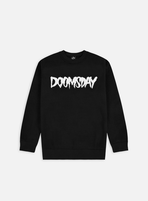 felpe doomsday logo crewneck black