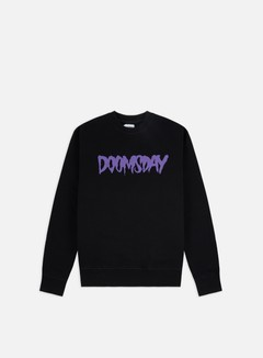 Doomsday - Logo Crewneck, Black/Purple